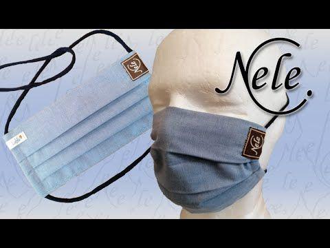 Photo of Mund-Nasen-Maske selber nähen, Gesichtsmaske, Behelfsmaske, Facie, face mask, by NeleC.