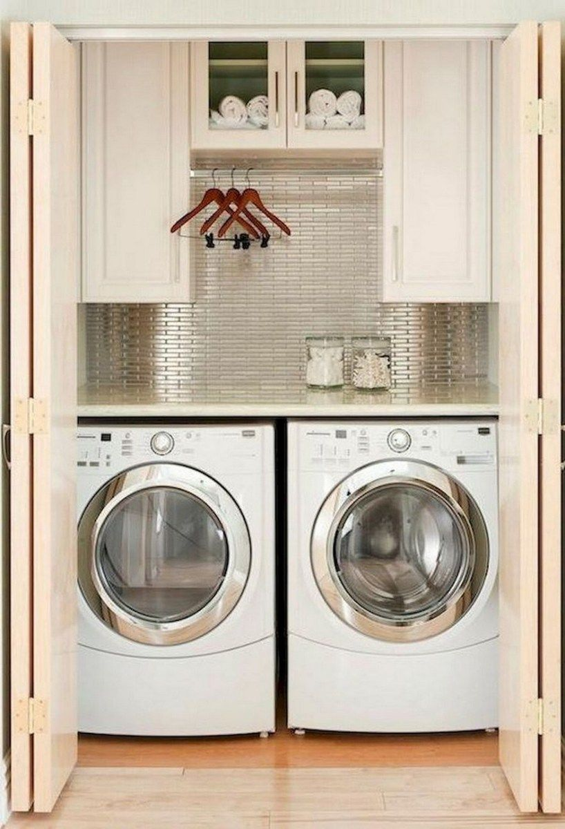 Brilliant Simple Ideas To Save Space In The Laundry Room