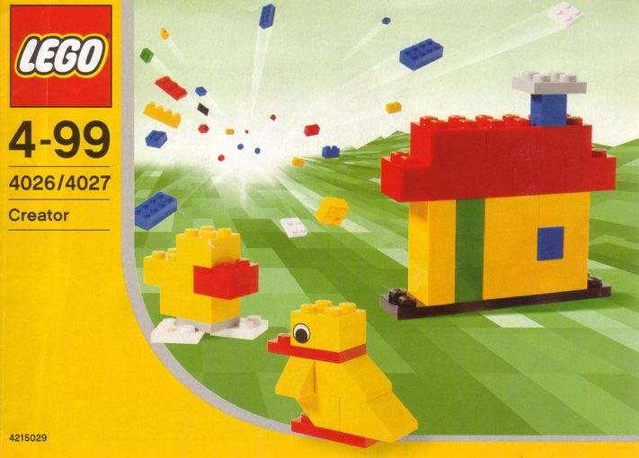 Creator Create Your Dream Lego 4026 Let Go Of My Lego