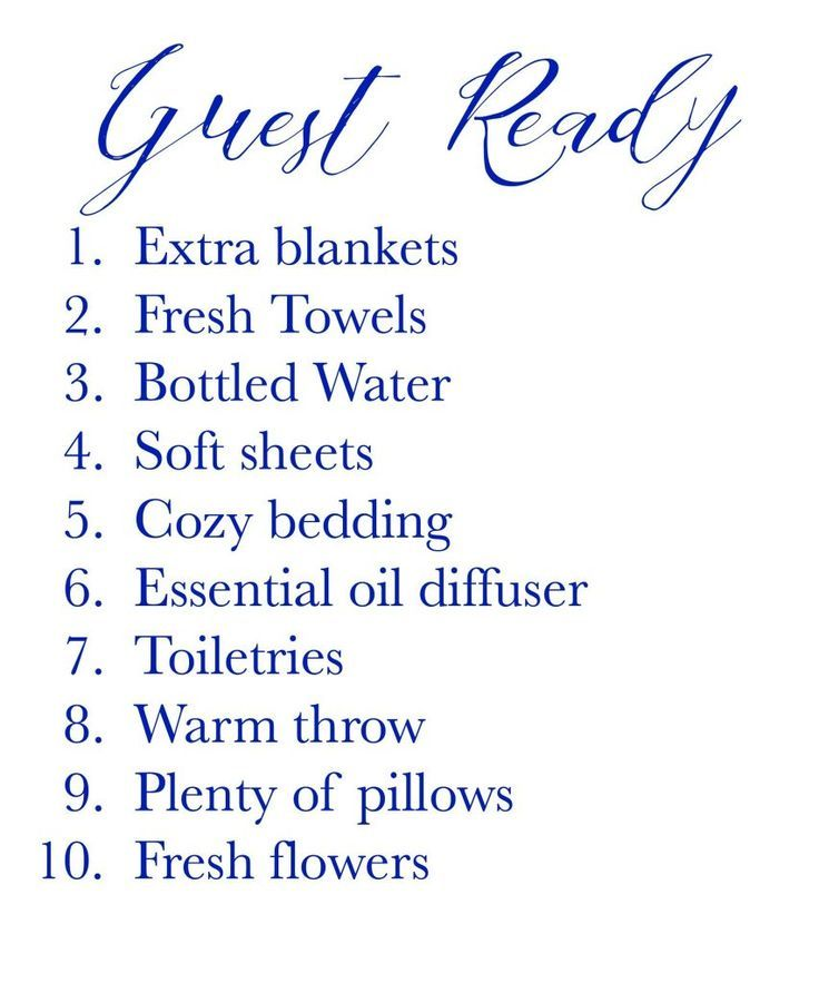 Things To Have In A Guest Room images