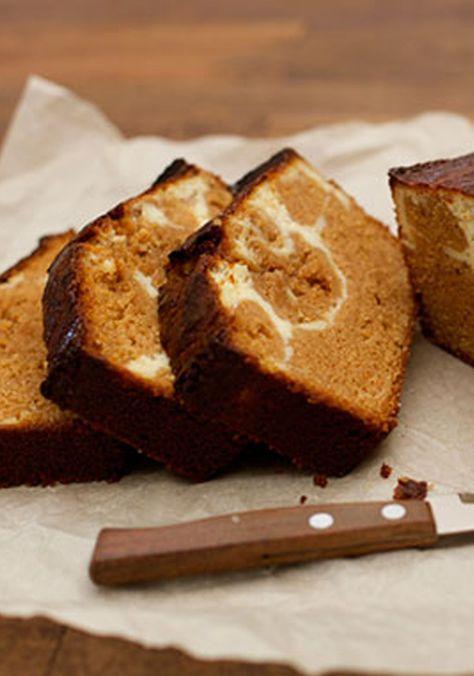 Panqué de cajeta y queso crema-Me encanta tener un pastel diferente para compartir con mis amigas durante el cafecito de la mañana o la tarde, o para que mis hijas acompañen su leche.