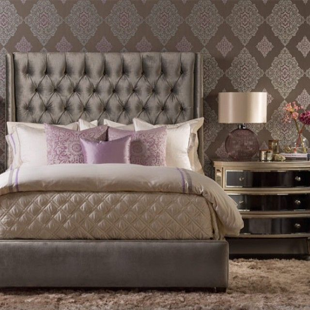 Luxury in lavender fill your bedroom with soft luxurious fabrics that make reality better than your dreams