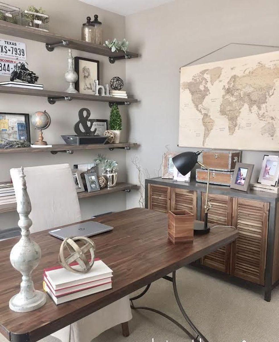 Easy Diy Farmhouse Desk Decor Ideas Budget 19