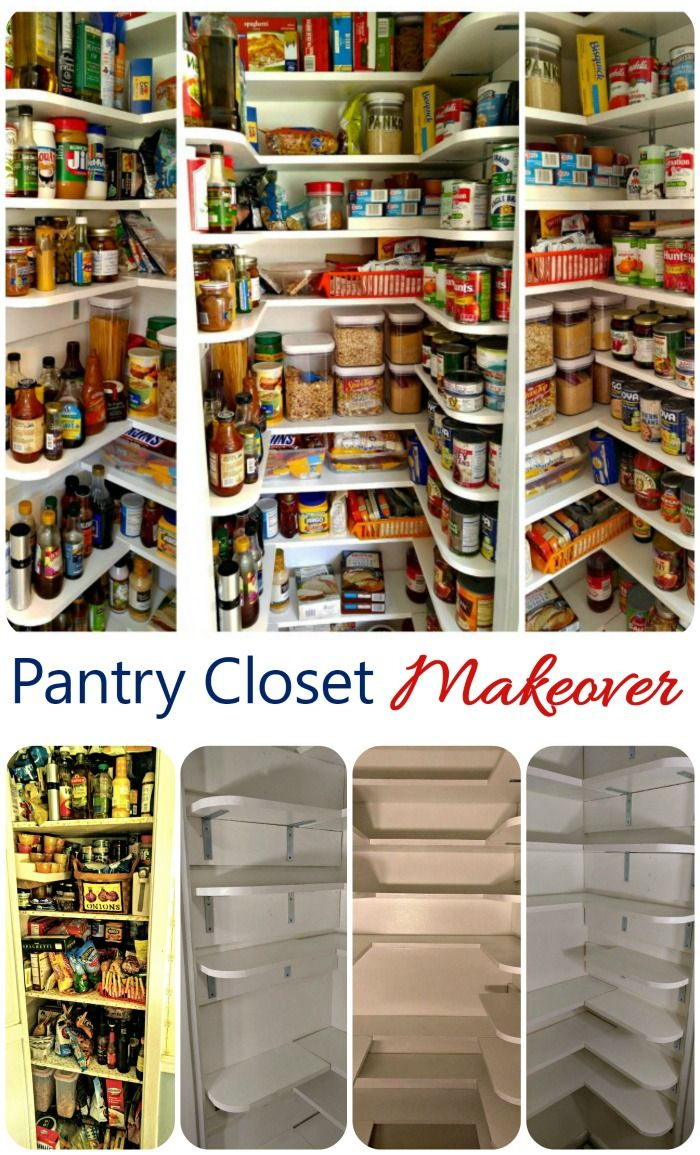 Closet Pantry Pantry Closet Makeover Tutorial A Organized Nest Kitchen