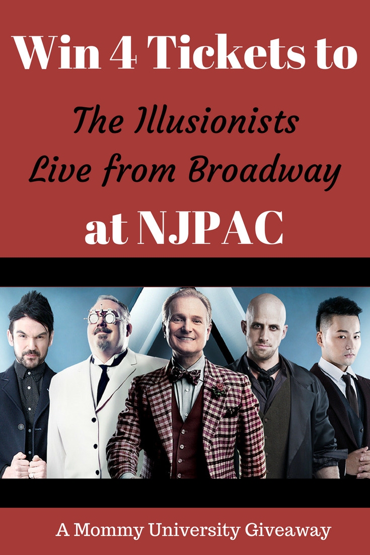 Win 4 Tickets to The Illusionists The illusionist, Three