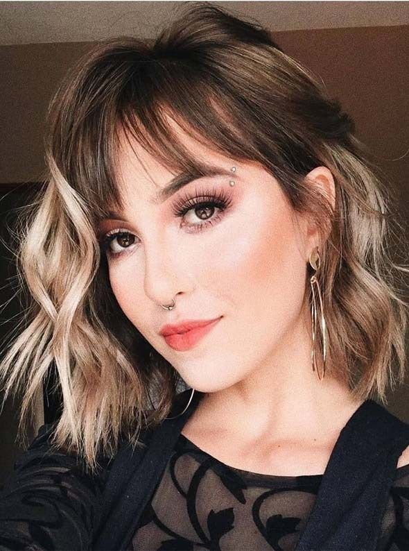 Updated Hairstyles Trends Beauty Fashion Ideas In 2020 Layered Bob Hairstyles Fringe Bob Haircut Bob Hairstyles