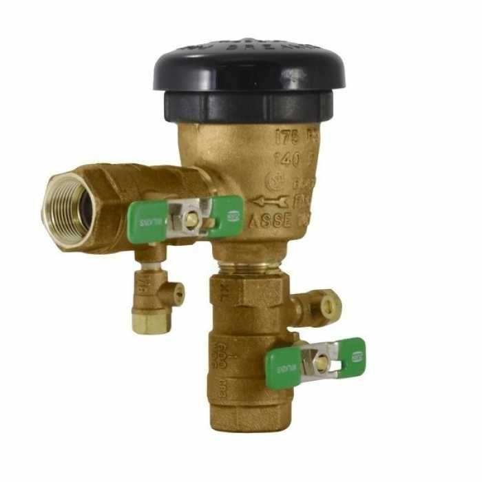 1 420xl Zurn Wilkins 420xl 1 Fnpt W Handle Female Vacuum Breaker Lead Free Water Supply Vacuums Plumbing