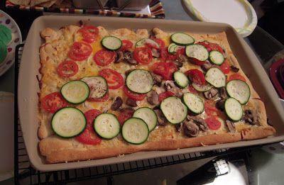 Pampered Chef - Grilled Chicken Penne al Fresco & Three Cheese Garden Pizza | Plain Chicken