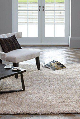 Teppich Wohnzimmer Carpet hochflor Design DIVA SHAGGY RUG 100 - Teppich Wohnzimmer Braun