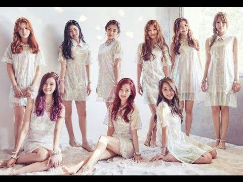 Gugudan (구구단) Nine Member at Debut Track 'Wonderland' MV