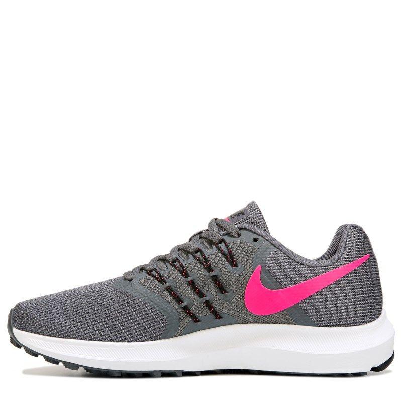 ae8f645f80a Nike Women s Run Swift Running Shoes (Grey   Pink)