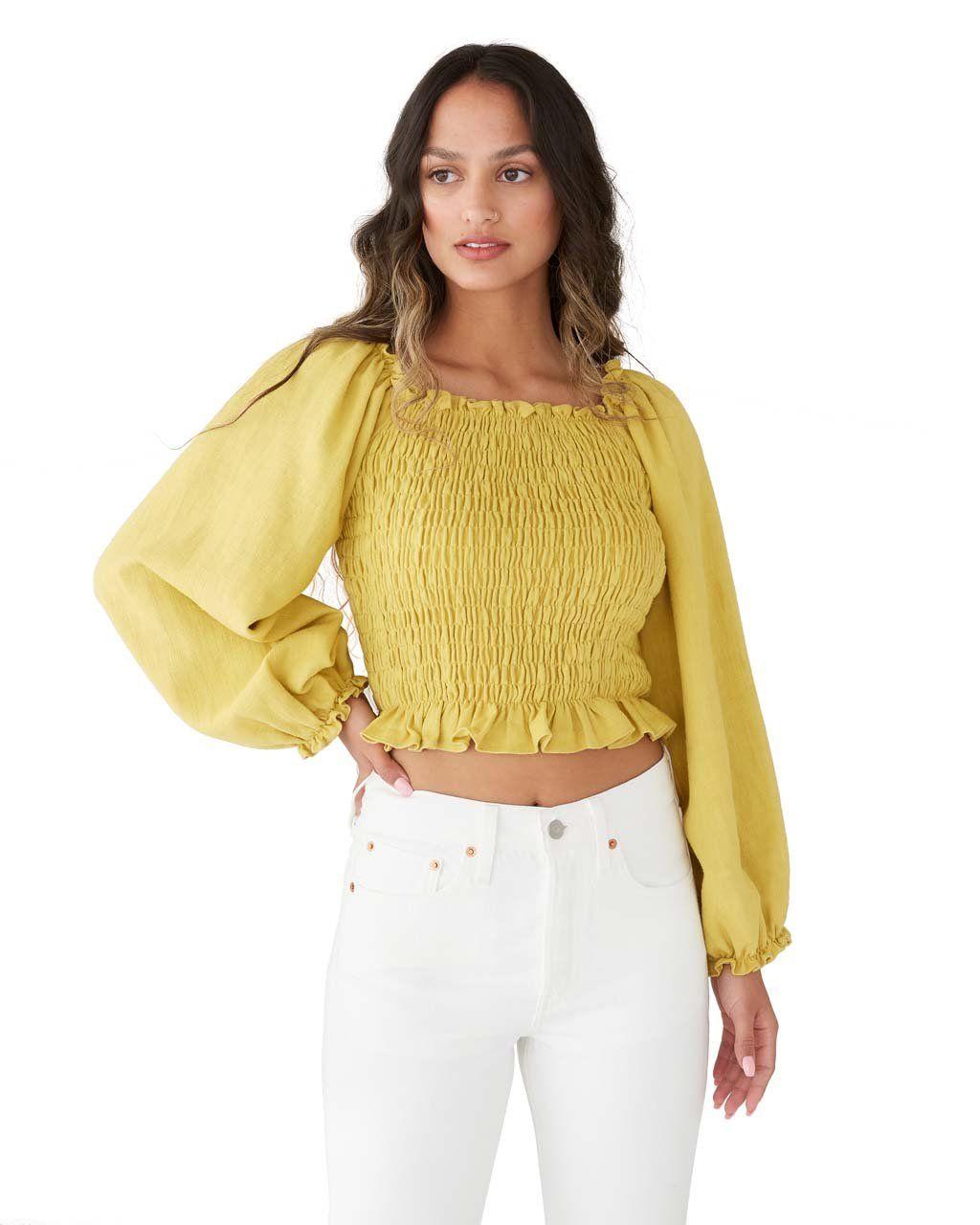 Daisy blouse sunflower by samantha pleet blouse ban