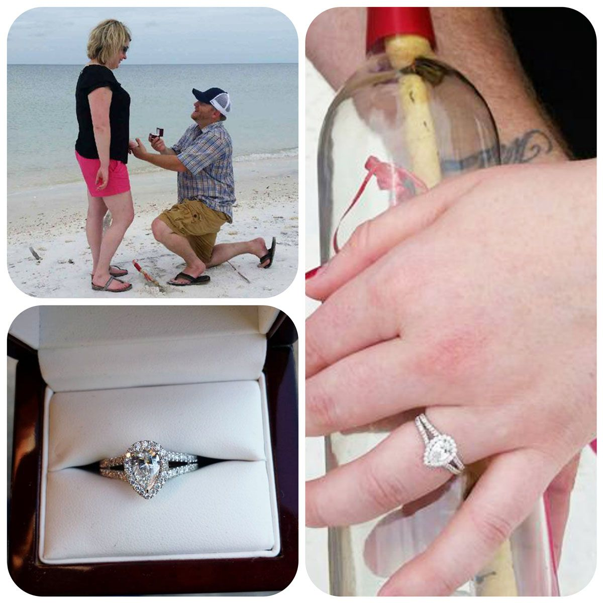 Congrats to our newest engaged couple! Justin and Jennifer recently ...
