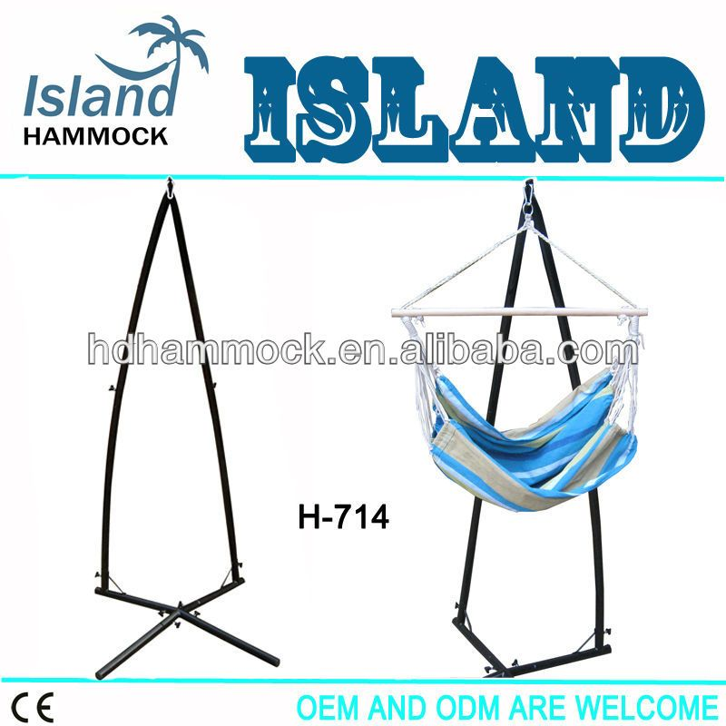 Simple hammock chair stand hanging chair stand for bedrooms In 2018 - Popular standing hammock chair Picture