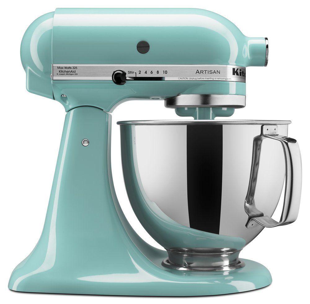 Amazon Com Kitchenaid Ksm150psaq Artisan Series 5 Qt Stand Mixer With Pouring Shie Kitchenaid Artisan Mixer Kitchenaid Artisan