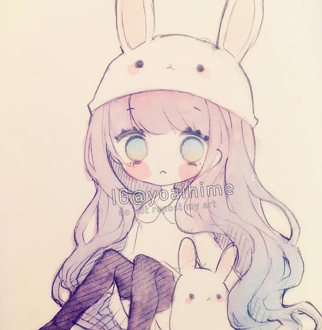 Caught a cold (>人<;) #sakurakoi #watercolor #sketch #chibi ...