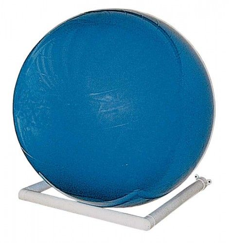Storage Rack Exercise Therapy Ball Wall Mount White Riversedge Products No Equipment Workout Therapy Ball Ball Storage