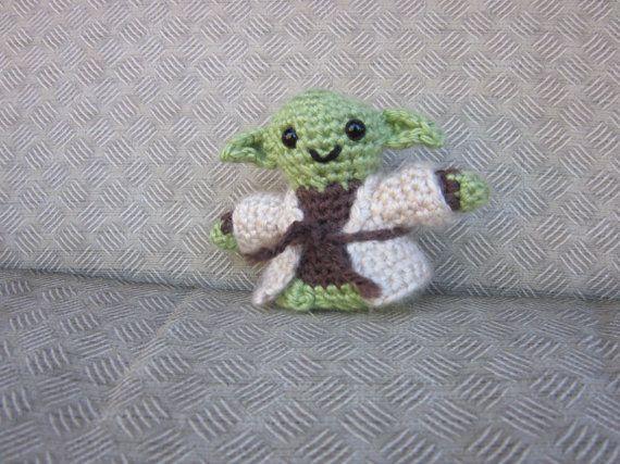Yoda Crochet Doll Jedi Meister Amigurumi Star Wars Amigurumi