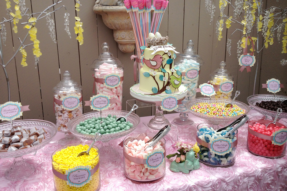 Candy Tables For Baby Showers