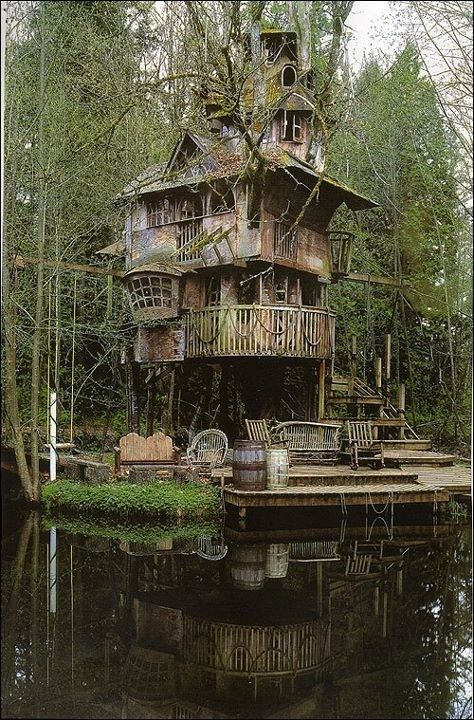 Photo of 24 Badass Treehouses That'll Make You Feel Like A Kid Again