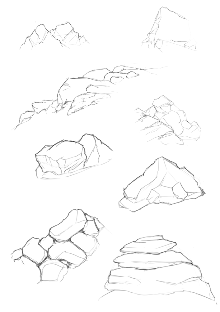 How To Draw Rocks In Solidworks