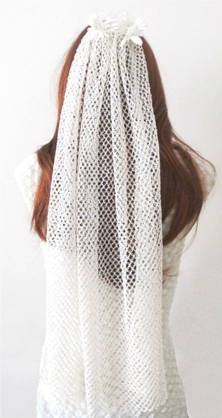 12 Crochet Wedding Veils That Will Make Everyone Want to Kiss the Bride