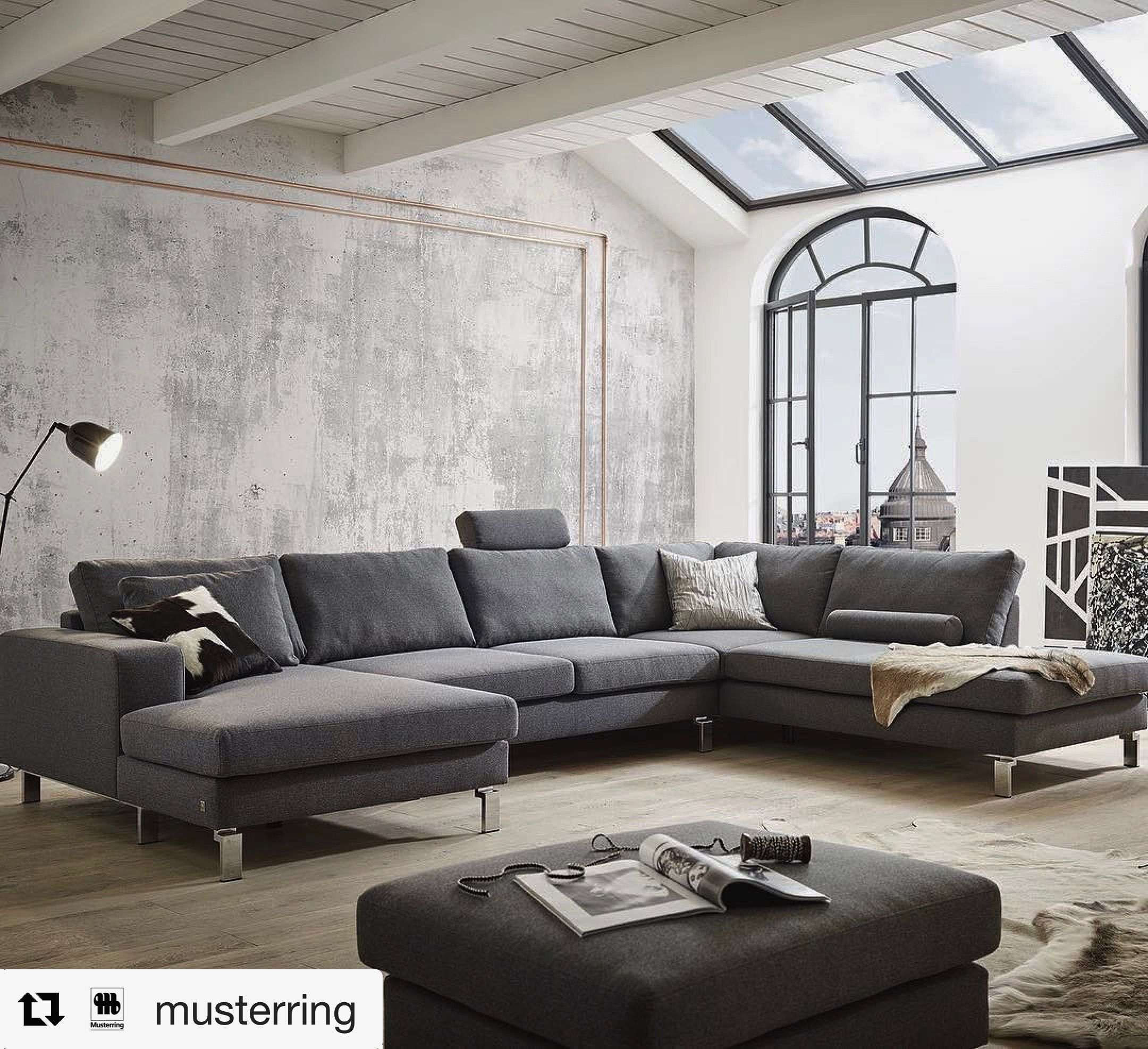 musterring mr4500 couch pinterest. Black Bedroom Furniture Sets. Home Design Ideas