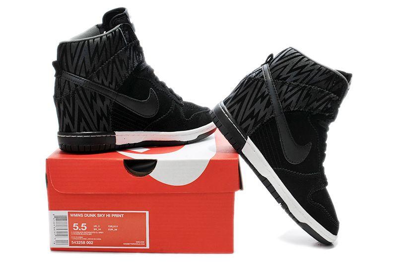 044901cc8b87 ... spain nike dunk sky high print womens zebra triple black summit white  fashion sneakers 82e37 ce755