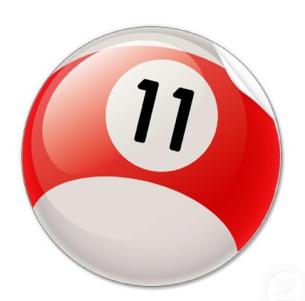 11 Ball Pool Ball Mario Characters Pool Ball Retail Logos