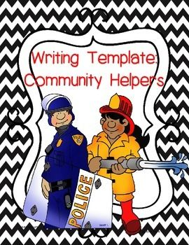 Free Community Helpers Template For Writing A Letter To Show