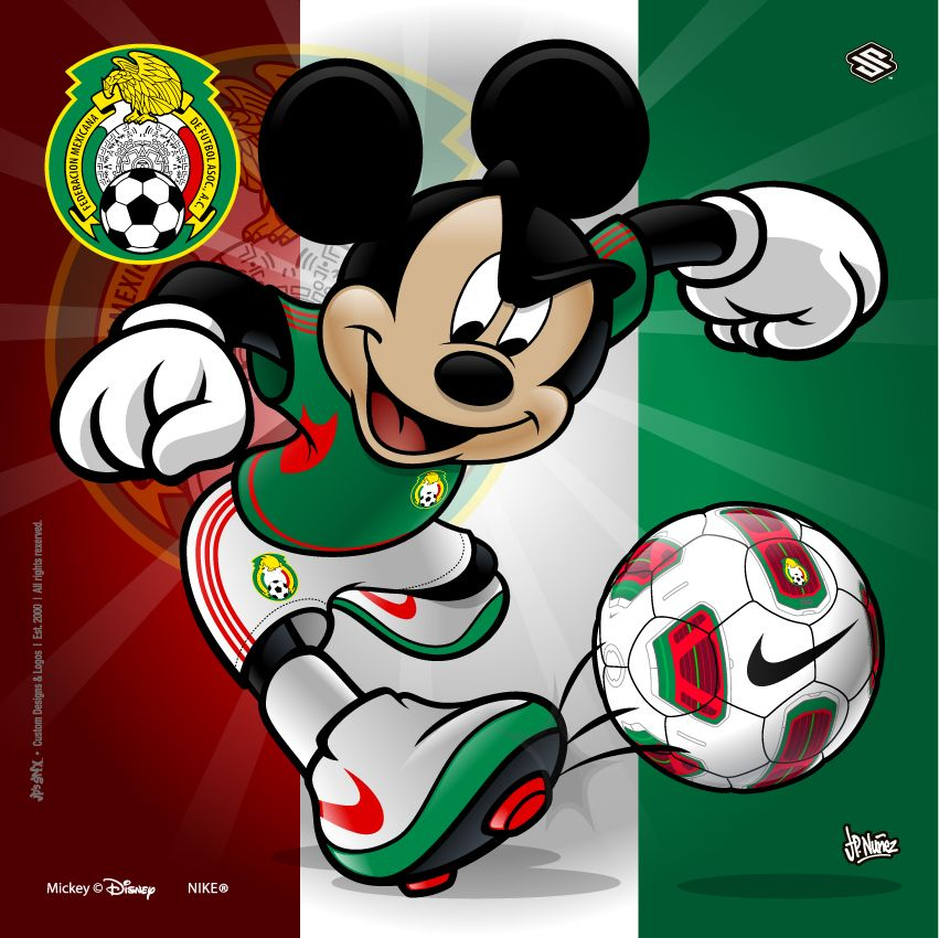 Mickey Mouse Soccer Mexico Come And Like Us On Facebook We Are A News Site Just Getting Started Thanks