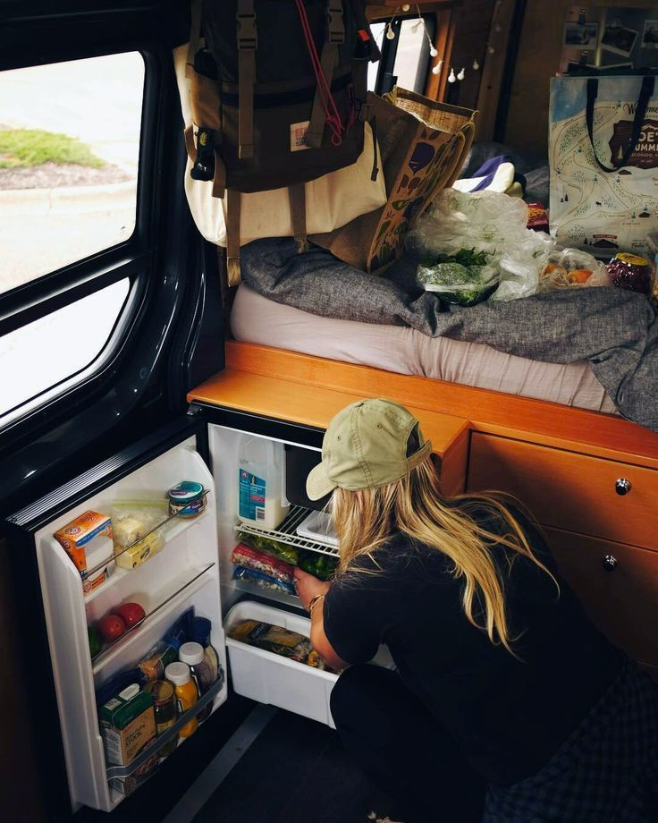 Great description of everything you should be thinking about when it comes to purchasing a refrigerator for your campervan. Compressor fridge size, ergonomics, efficiency, and type are all important factors. Perfect for the #vanlife kitchen setup!