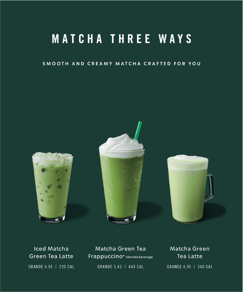 Voice Starbucks Creative Expression Food Poster Design