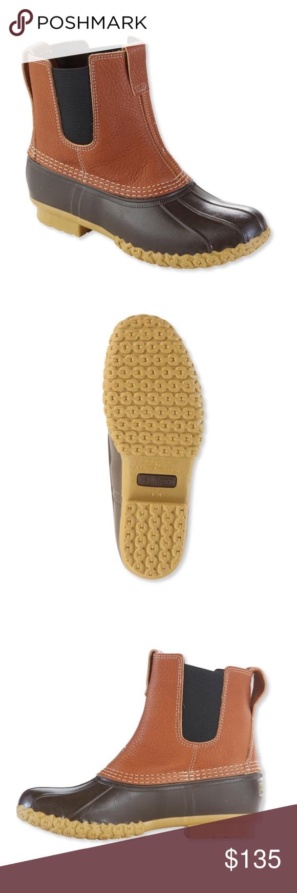 """L. L. Bean Boots 7 """"Zoll Chelsea Tumbled Leather 9 Genießen Sie die gleiche Qualität und …"""