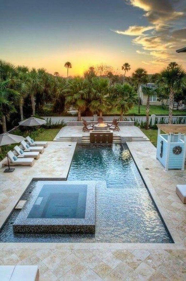 26 Elegant Swimming Pools Design Ideas For Your Yard Swimmingpools Swimmingpooldesig Beautiful Pools Backyard Pool Landscape Design Backyard Pool Landscaping