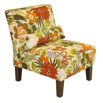 Skyline Furniture 5705LILMARIGLD Westwood Armless Accent Chair #home Decor  Sale U0026 Deals Upholstery:Floral