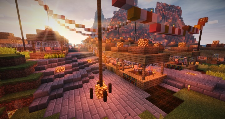 Village Market Minecraft Map