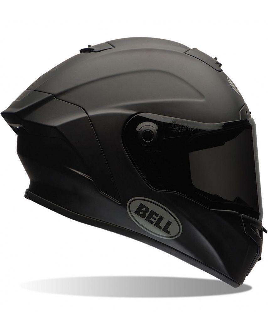 Bell Star Matte Solid Full Face Helmet Via Moda Cool Motorcycle Helmets Matte Black Helmet Full Face Motorcycle Helmets