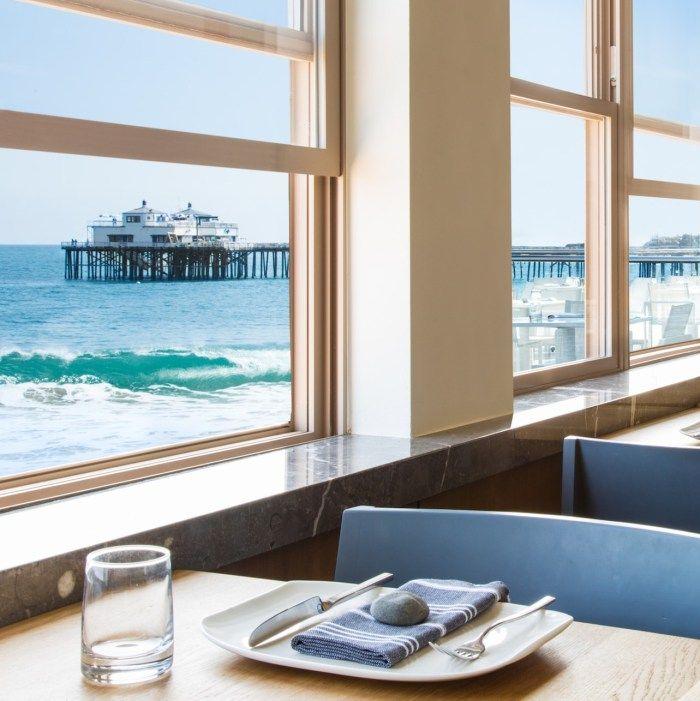Carbon Beach Club Restaurant At The Malibu Inn Hotel