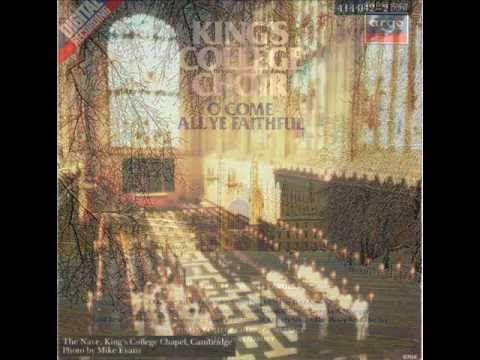 King's College Choir: O Come All Ye Faithful   King's college, Choir, Christmas music