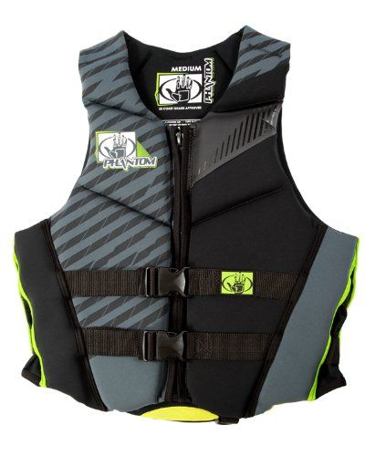 Body Glove Mens Phantom Us Coast Guard Approved Neoprene Pfd Life Vest Charcoalblackxsmall Details Can Be Found Life Jackets And Vests Life Vest Body Glove
