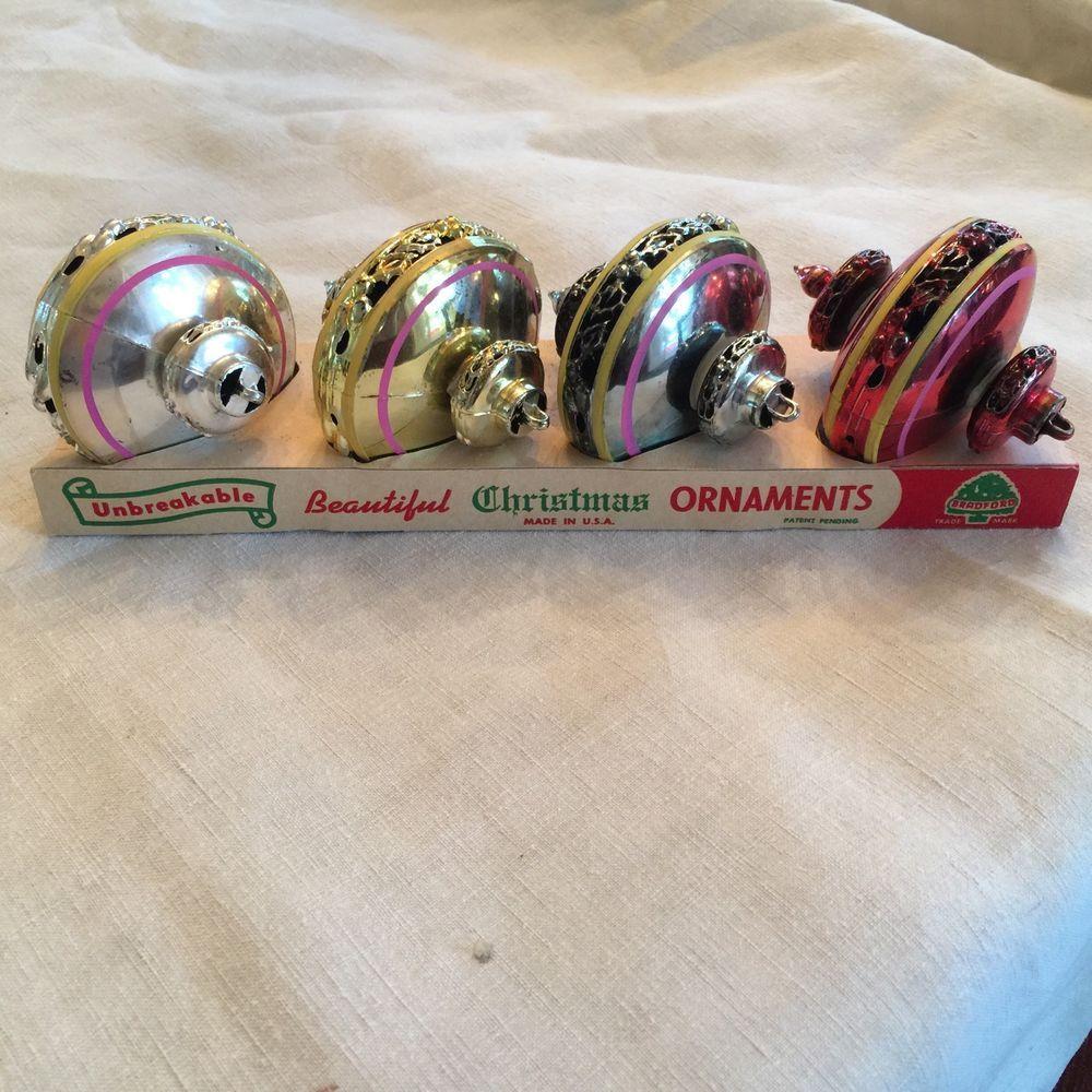 Bradford christmas ornaments - Bradford Unbreakable Christmas Ornaments