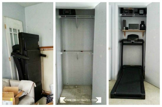 Hideaway Home Gym!   Home gym, At home gym, Bedroom nook
