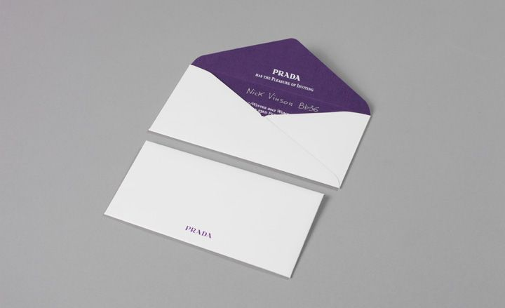 Fashion week AW 2012 invitations Eschewing an actual invitation – Printed Invitation Cards