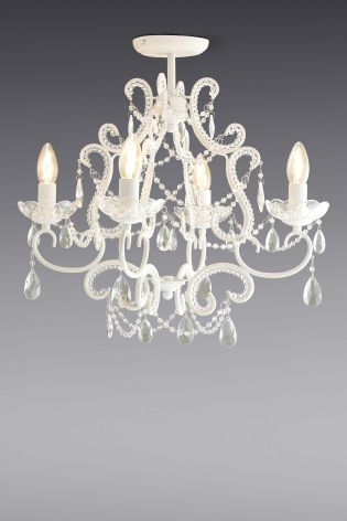 Buy amelie 4 light chandelier from the next uk online shop home buy amelie 4 light chandelier from the next uk online shop aloadofball Image collections
