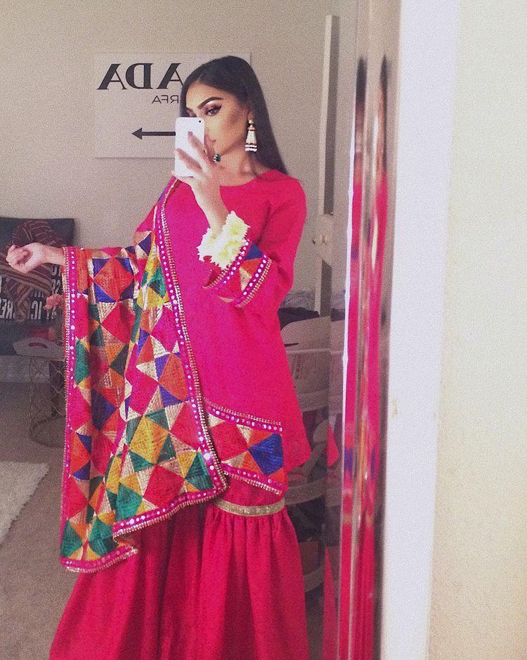 Pin de @Dil_Di_Gal_Couture (Instagram) en Pakistani Sharara and ...