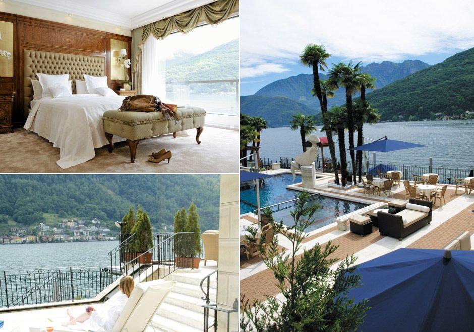 5 Star Diamond Swiss Hotel Lugano In Switzerland