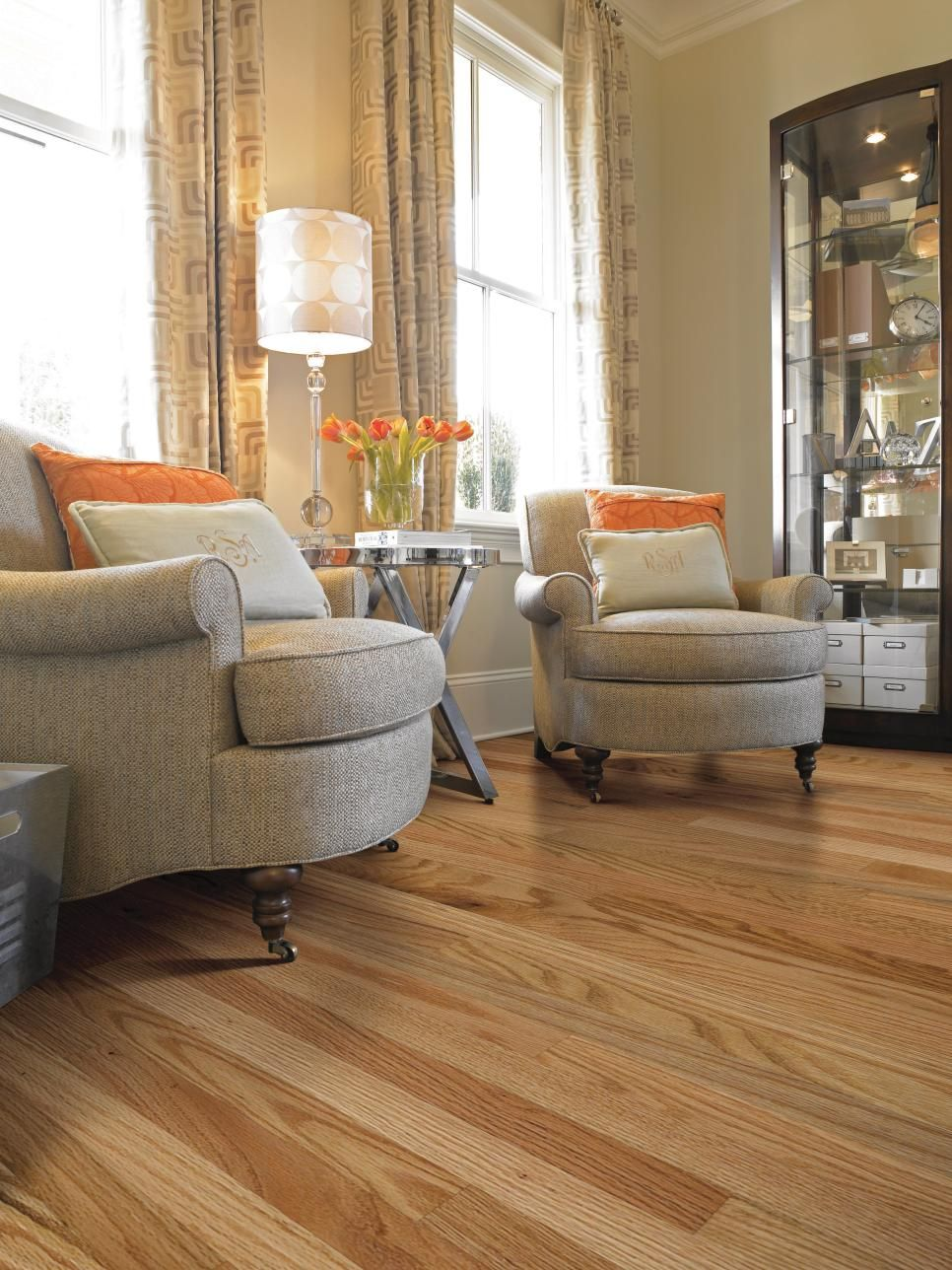 Red oak is one of the most popular flooring choices