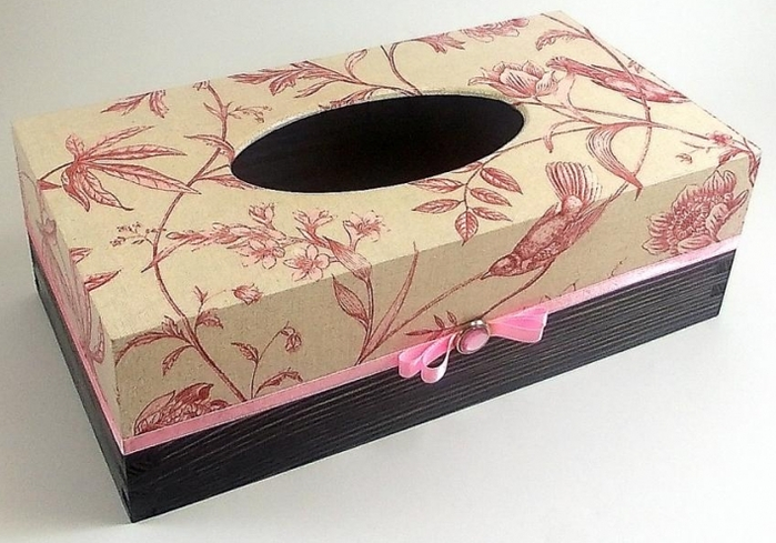 как украсить коробку из под обуви фото