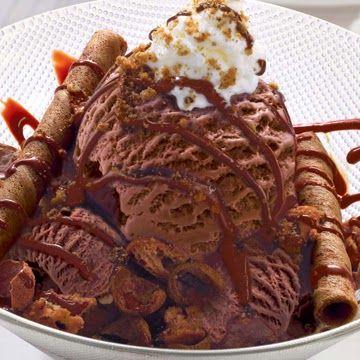 Resep Es Krim Coklat Lembut Praktis Sederhana Resep Es Krim Es Krim Makanan Manis